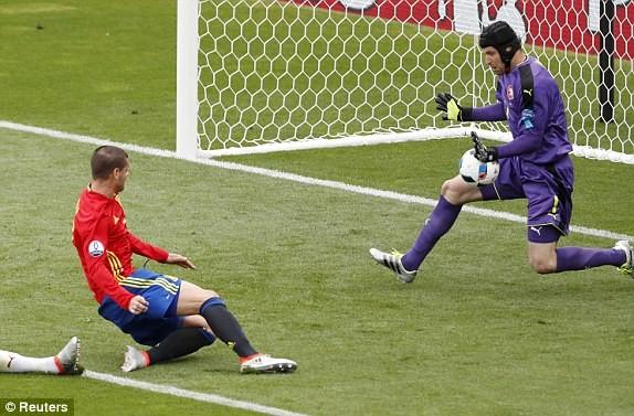 Cận cảnh trận thắng nhọc nhằn của Tây Ban Nha - ảnh 6