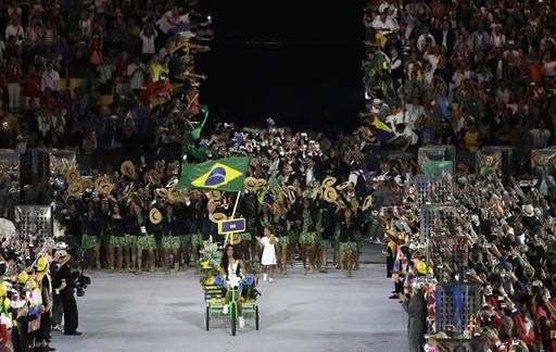 Khai mạc Olympic 2016: Rực rỡ pháo hoa, rộn ràng hát ca - ảnh 24
