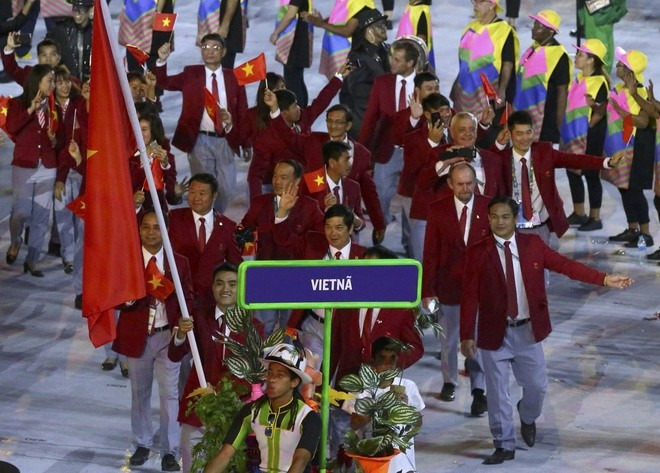 Khai mạc Olympic 2016: Rực rỡ pháo hoa, rộn ràng hát ca - ảnh 23