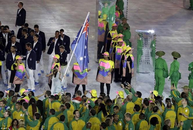 Khai mạc Olympic 2016: Rực rỡ pháo hoa, rộn ràng hát ca - ảnh 17