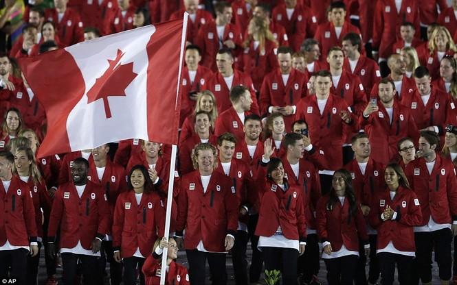 Khai mạc Olympic 2016: Rực rỡ pháo hoa, rộn ràng hát ca - ảnh 18