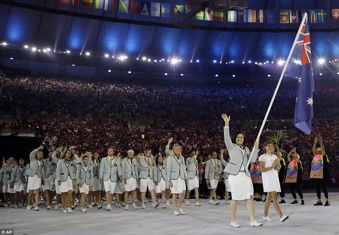 Khai mạc Olympic 2016: Rực rỡ pháo hoa, rộn ràng hát ca - ảnh 20