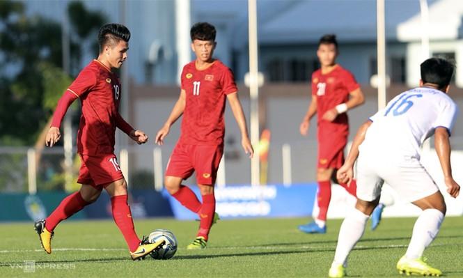 Tiến Linh lập hat-trick, U22 Việt Nam thắng đậm Lào - ảnh 2