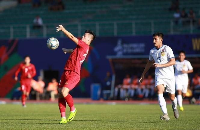 Tiến Linh lập hat-trick, U22 Việt Nam thắng đậm Lào - ảnh 4