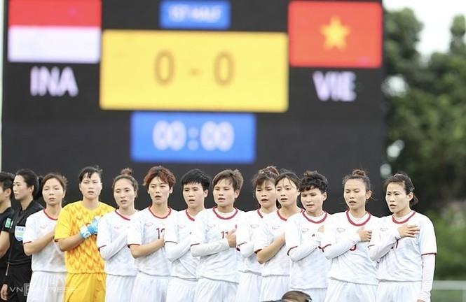 Thắng Indonesia 6-0, tuyển nữ Việt Nam vào bán kết SEA Games 30 - ảnh 1