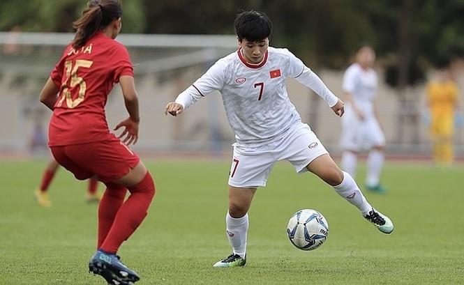 Thắng Indonesia 6-0, tuyển nữ Việt Nam vào bán kết SEA Games 30 - ảnh 12