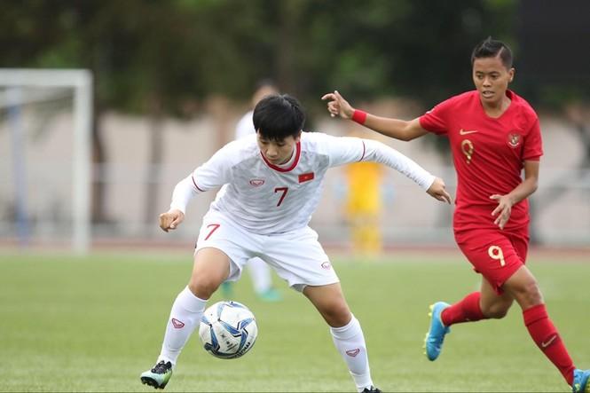 Thắng Indonesia 6-0, tuyển nữ Việt Nam vào bán kết SEA Games 30 - ảnh 8