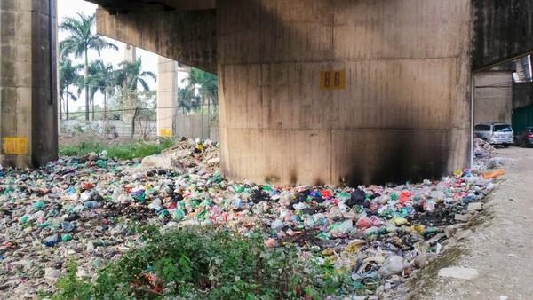 Bãi rác ngập dưới chân cầu Thăng Long là từ đâu? - ảnh 7