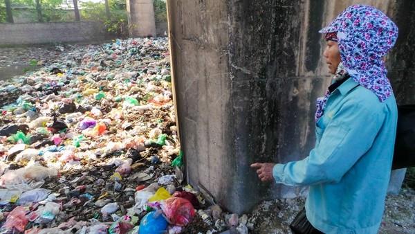 Bãi rác ngập dưới chân cầu Thăng Long là từ đâu? - ảnh 8