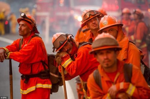 Cháy rừng khủng khiếp ở Mỹ, 13 người thương vong - ảnh 10