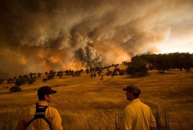 Cháy rừng khủng khiếp ở Mỹ, 13 người thương vong - ảnh 1
