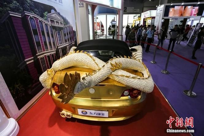 Lóa mắt với BMW Z4 hình rồng dát vàng lấp lánh - ảnh 4