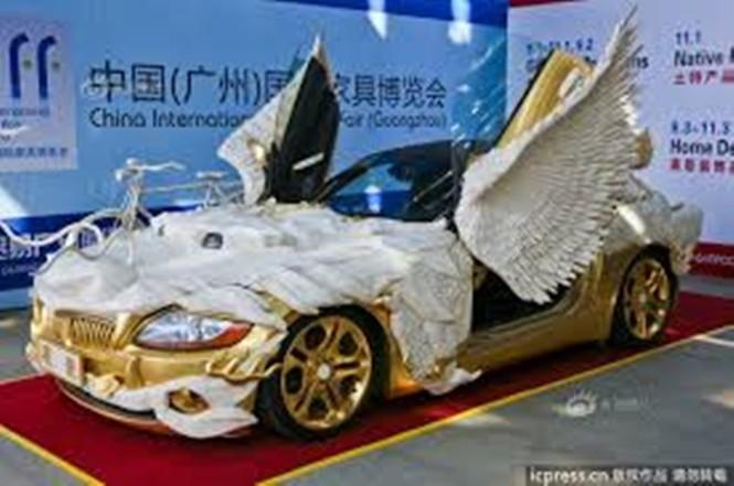 Lóa mắt với BMW Z4 hình rồng dát vàng lấp lánh - ảnh 7