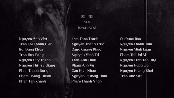 """Người Việt """"chiếm đóng"""" phần credit chế tác đồ họa trong siêu phẩm mới của Netflix - ảnh 3"""