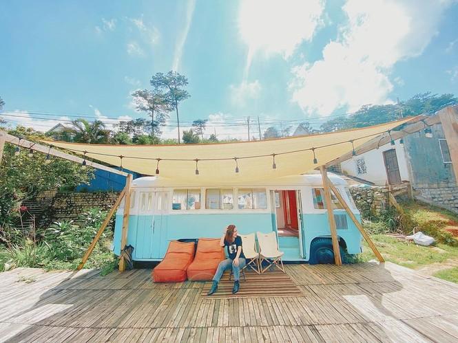 Homestay xe buýt: Loại hình homestay mới ở Đà Lạt - ảnh 1
