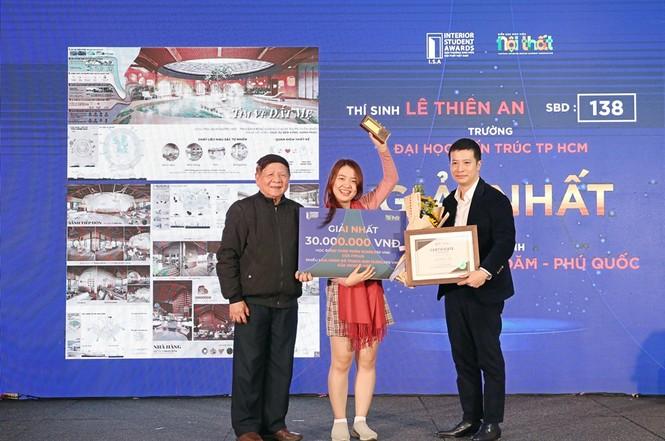 Gala trao giải Sinh viên Nội thất Việt Nam: Lộ diện những gương mặt tài năng trong cộng đồng thiết kế - ảnh 4