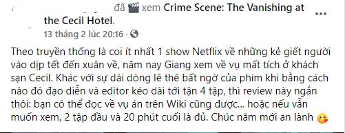 Xếp #1 Netflix Việt Nam, tại sao phim tài liệu về vụ mất tích của Elisa Lam nhận nhiều lời chê? - ảnh 6
