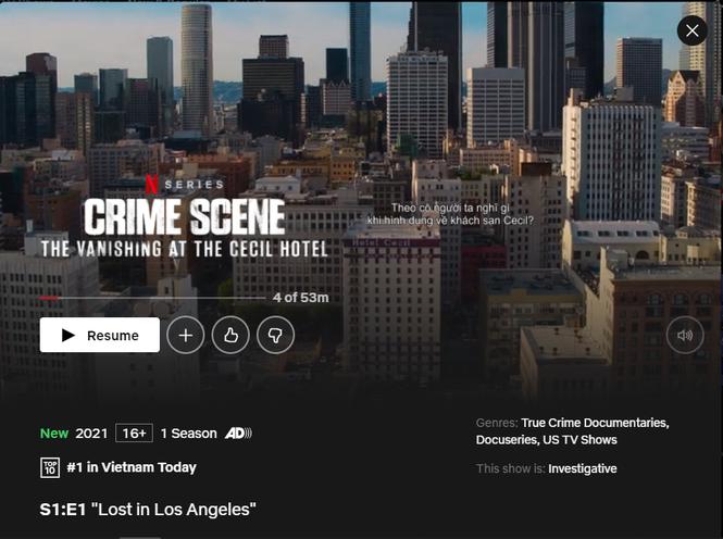 Xếp #1 Netflix Việt Nam, tại sao phim tài liệu về vụ mất tích của Elisa Lam nhận nhiều lời chê? - ảnh 1