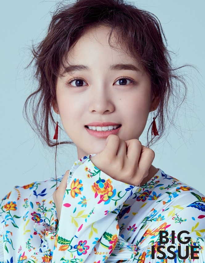 Kim Sejeong hé lộ bí quyết uốn mi cong - ảnh 1
