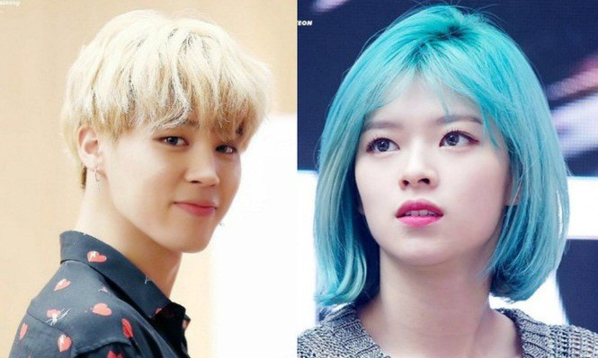 Jimin (BTS) và Jeongyeon (TWICE) có phản ứng kỳ lạ khi gặp nhau - ảnh 1