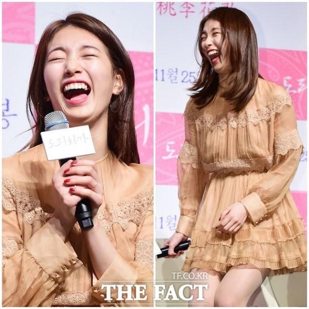 Suzy từng bị JYP cấm cười - ảnh 9