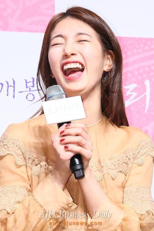 Suzy từng bị JYP cấm cười - ảnh 5