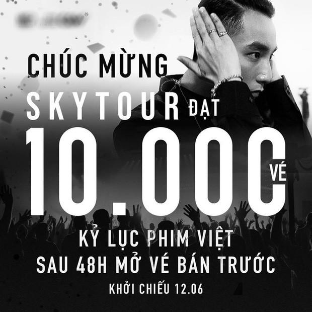 """Vì đâu """"Sky Tour Movie"""" của Sơn Tùng M-TP không đạt doanh thu cao như kỳ vọng? - ảnh 1"""
