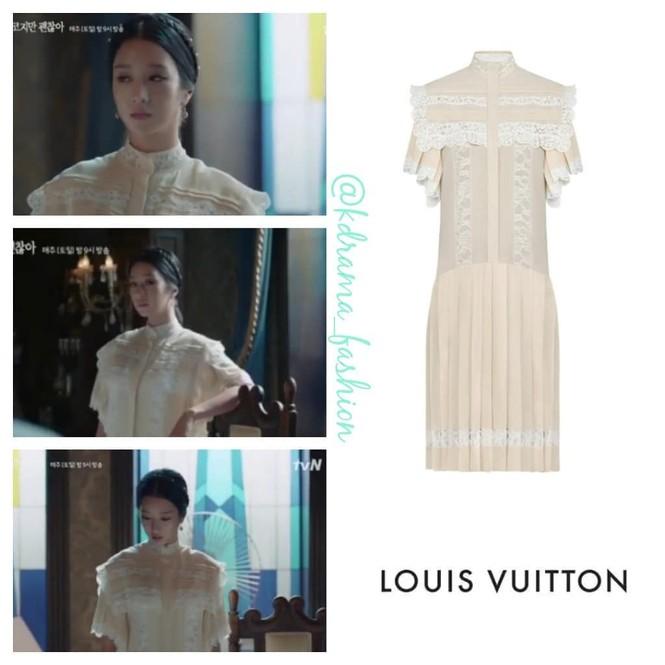 """Đụng hàng váy Louis Vuitton , Seo Ye Ji """"ăn đứt"""" con dâu vua sòng bạc Ming Xi - ảnh 4"""