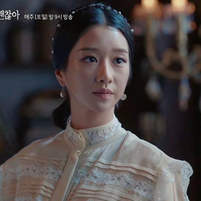 """Đụng hàng váy Louis Vuitton , Seo Ye Ji """"ăn đứt"""" con dâu vua sòng bạc Ming Xi - ảnh 5"""