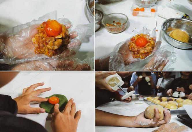 Khoảnh khắc lần đầu làm bánh trung thu của các em ở lớp học tình thương Rạch Ông - ảnh 7