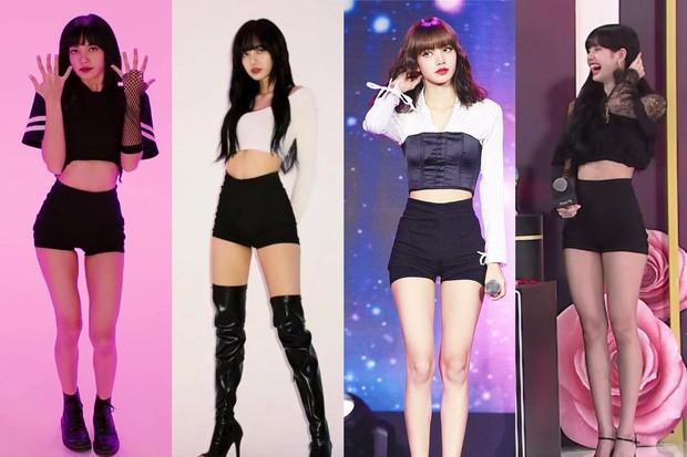 """Lisa đúng """"thánh tiết kiệm"""" của BLACKPINK, một kiểu quần mặc suốt bốn năm vẫn chưa thay đổi - ảnh 3"""