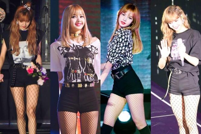 """Lisa đúng """"thánh tiết kiệm"""" của BLACKPINK, một kiểu quần mặc suốt bốn năm vẫn chưa thay đổi - ảnh 2"""