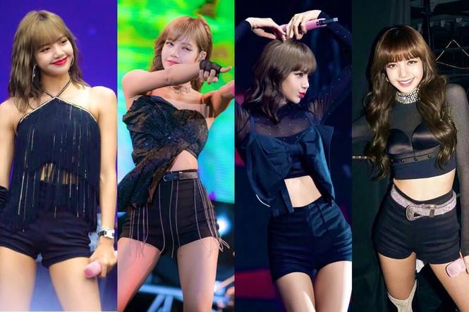 """Lisa đúng """"thánh tiết kiệm"""" của BLACKPINK, một kiểu quần mặc suốt bốn năm vẫn chưa thay đổi - ảnh 4"""
