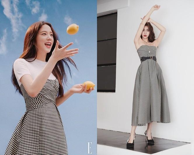Ngạc nhiên chưa, hai nàng thơ Jisoo và Angela Baby của Dior đụng hàng đồ của hãng khác - ảnh 8