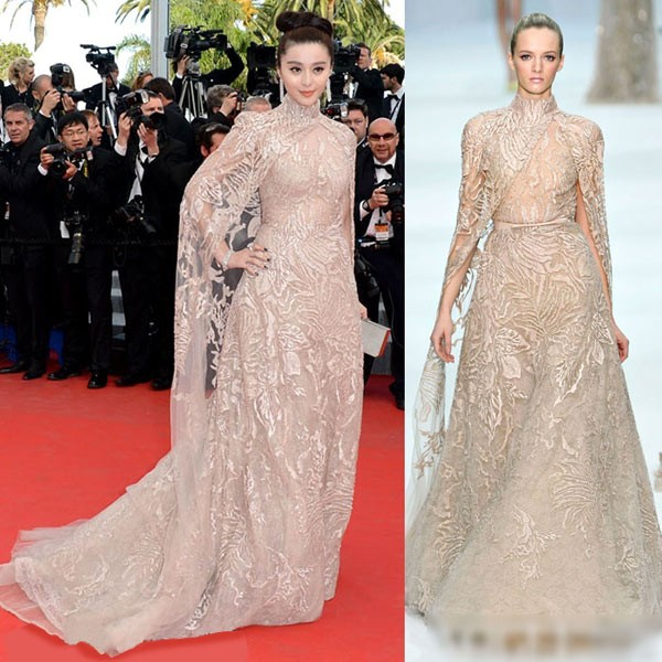 Mặc váy nhái bị bóc phốt đã đành, hóa ra mặc váy quá xịn xò cũng không được yên - ảnh 3