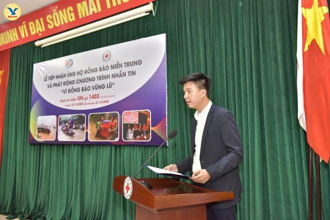 Đại diện tập đoàn MED GROUP trao 1,5 tỷ đồng tới Hội Chữ Thập đỏ Việt Nam - ảnh 2