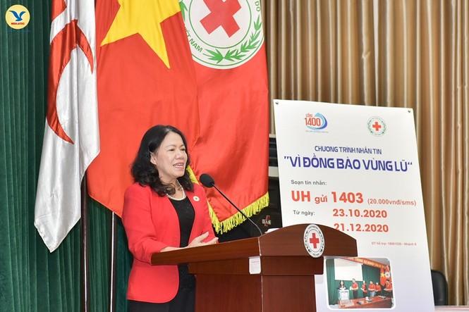 Đại diện tập đoàn MED GROUP trao 1,5 tỷ đồng tới Hội Chữ Thập đỏ Việt Nam - ảnh 4