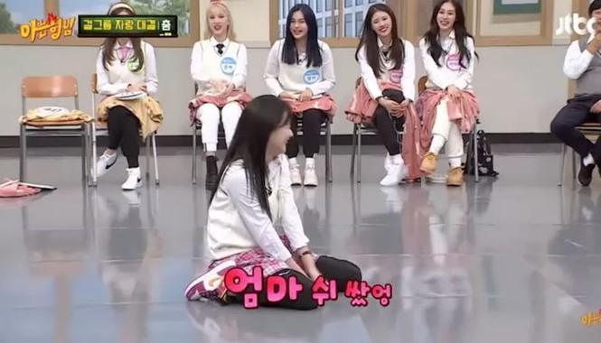 Fan sửng sốt khi Naeun (April) làm động tác tế nhị trước máy quay: Đáng yêu hay quá đà? - ảnh 4