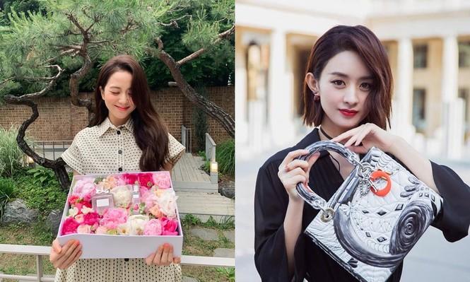 """Cùng là """"nàng thơ Dior"""" nhưng Triệu Lệ Dĩnh và Jisoo (BLACKPINK) lại hiếm khi đụng hàng - ảnh 7"""