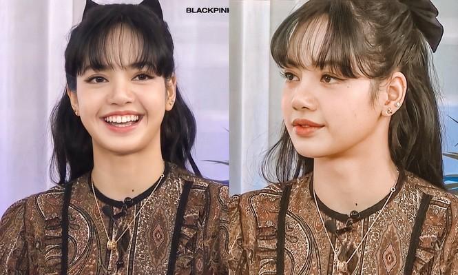 Lisa bỗng dưng chuyển sang tóc mái thưa, mới được trả 5 tỷ won hay sao mà chịu lộ trán? - ảnh 3
