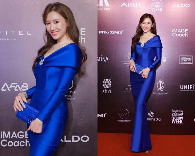 Chọn đúng trang phục trang điểm, Hoa hậu Đỗ Thị Hà xinh đẹp quý phái như công nương - ảnh 6