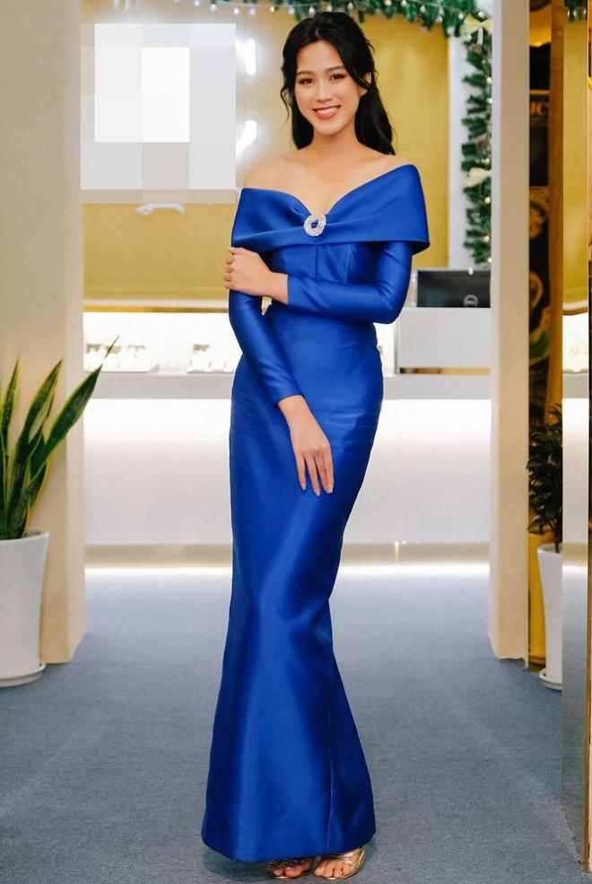 Chọn đúng trang phục trang điểm, Hoa hậu Đỗ Thị Hà xinh đẹp quý phái như công nương - ảnh 1