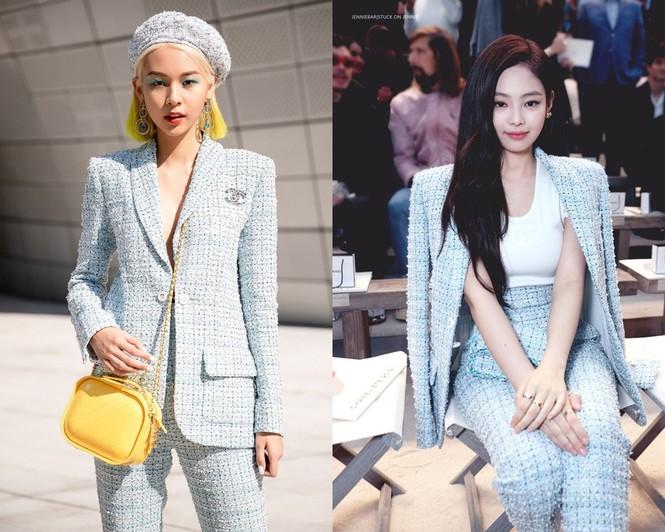 Vừa debut làm ca sĩ, Phí Phương Anh đã bị nghi ngờ sao chép tạo hình của Jennie  - ảnh 7