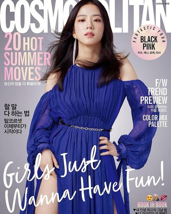 """Nhìn lại """"lục đại tạp chí"""" mà Jisoo đã mở khóa thành công: Ngày càng lên hương nhan sắc - ảnh 3"""