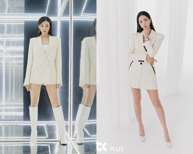 V-Biz mấy ai cao tay như Min, diện đồ rất giống BLACKPINK nhưng vẫn được khen phong cách - ảnh 10