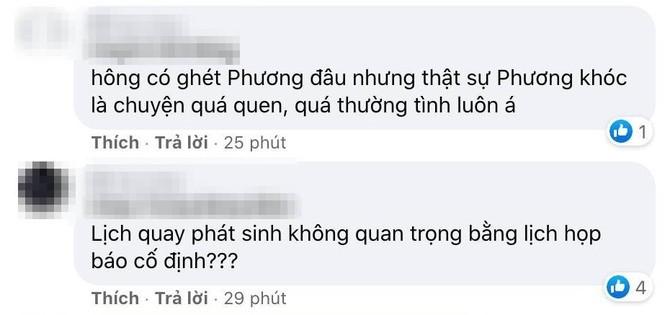 Bất ngờ trước phản ứng của nhiều netizen trước màn bật khóc xin lỗi vì đến muộn của Nhã Phương - ảnh 5