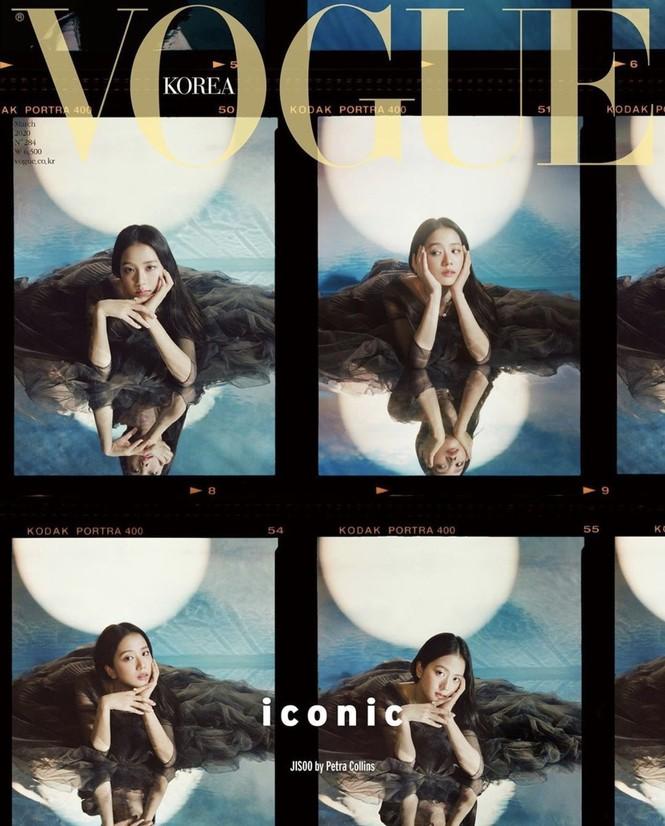 """Nhìn lại """"lục đại tạp chí"""" mà Jisoo đã mở khóa thành công: Ngày càng lên hương nhan sắc - ảnh 4"""