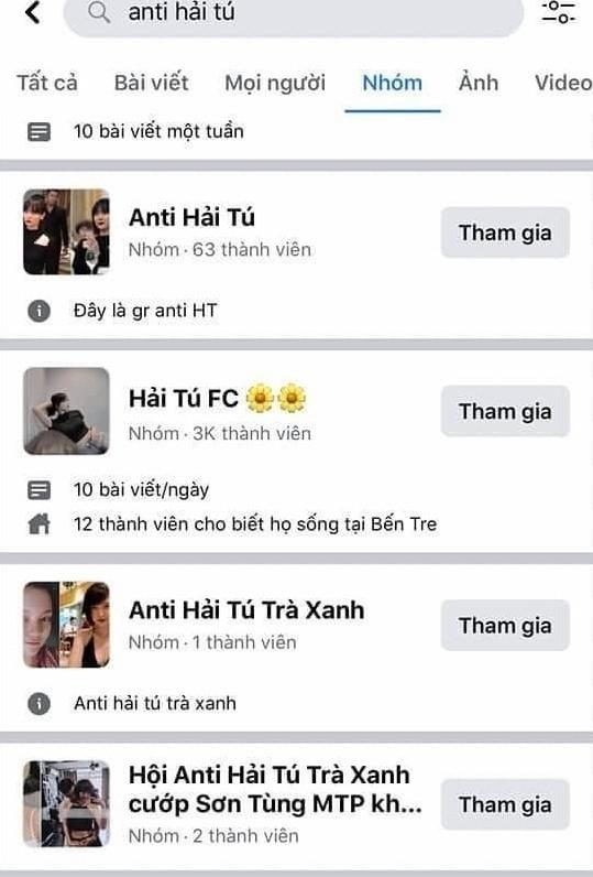 Chưa đầy một đêm, Hải Tú đã trở thành nhân vật có nhiều nhóm anti nhất showbiz Việt - ảnh 3