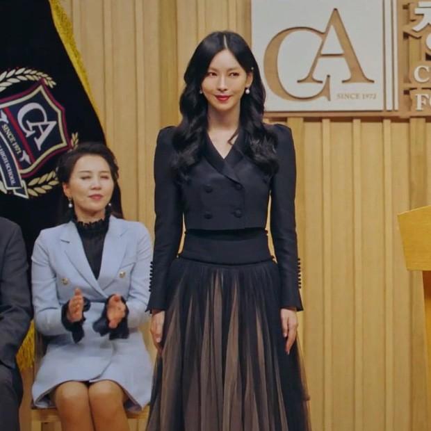 Váy cạp cao khoe eo thon như Seo Ye Ji đang thành chân ái của sao K-Biz - ảnh 4