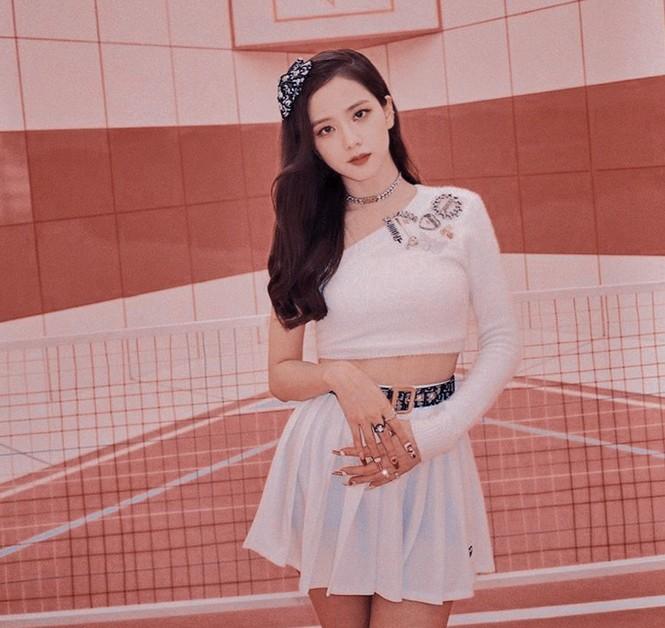 Váy cạp cao khoe eo thon như Seo Ye Ji đang thành chân ái của sao K-Biz - ảnh 7